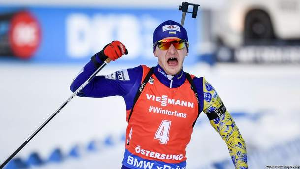 Чемпион мира по биатлону Дмитрий Пидручный