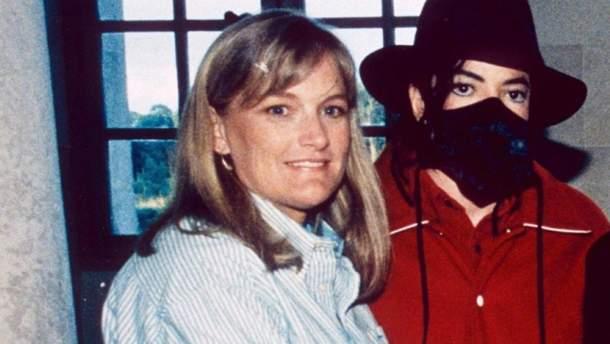 Майкл Джексон с Дебби Роу