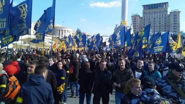"""""""Нацкорпус"""" готує масштабну акцію на Майдані в Києві 16 березня"""