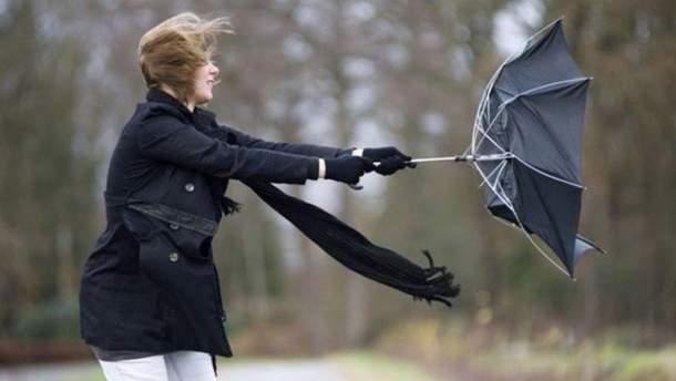 В Украину возвращается сильный ветер