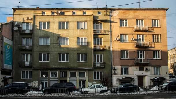 Модерністичні будинки на вулиці Личаківській у Львові