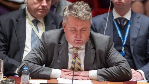 Київ запропонував позбавити Росію права вето у Раді безпеки ООН