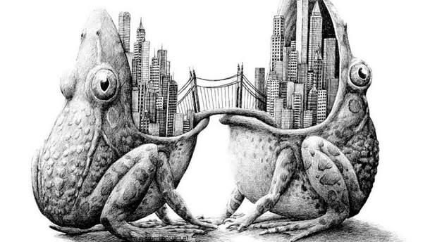 Иллюстрация Редмера Хукстра