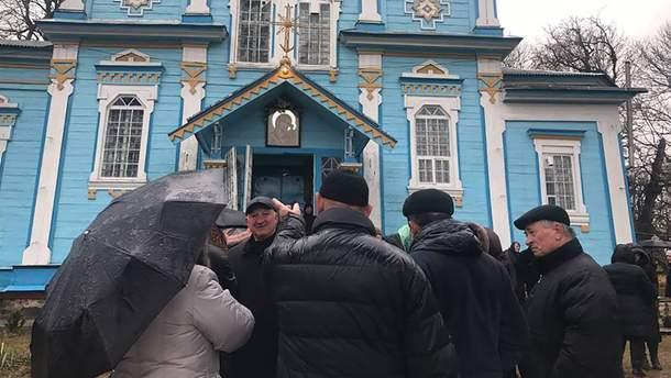 На Вінниччині поштовхалися віряни ПЦУ та УПЦ МП