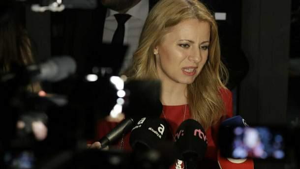 Зузана Чапутова – лидер президентской гонки в Словакии