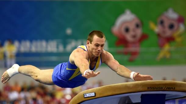 Українець Радівілов здобув срібну медаль на етапі Кубка світу зі спортивної гімнастики