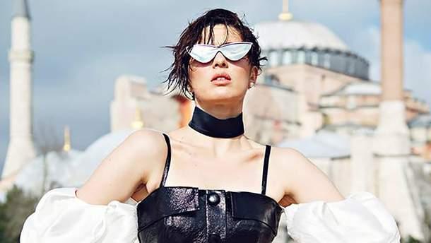 MARUV знялась у фотосесії для турецького глянцю