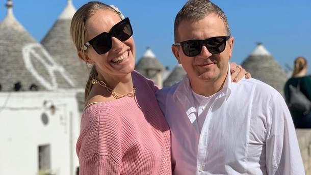 Італійські канікули: Катя Осадча і Юрій Горбунов поділилися світлинами з сімейного відпочинку