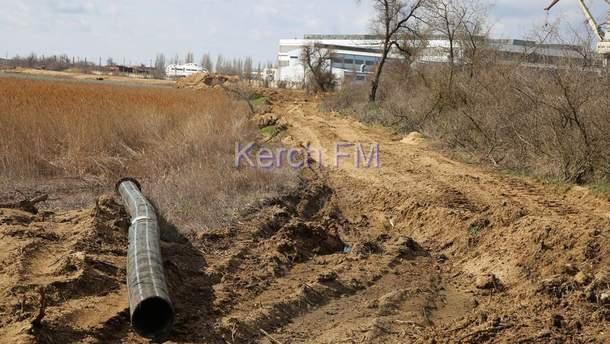 Екологія Криму страждає від видобутку отруйного піску