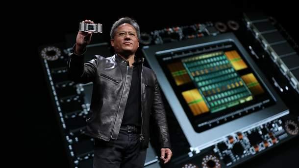 Презентация чипа NVIDIA Tesla V100