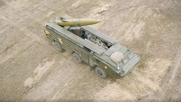 Украинские военные провели ракетные тренировки