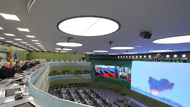 Випробування Росією гіперзвукового ракетного озброєння у грудні 2018