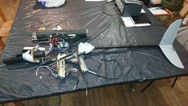 Украинские военные сбили дрон оккупантов