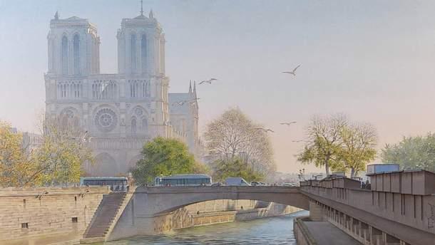 Париж в акварелях Тьєррі Дюваля