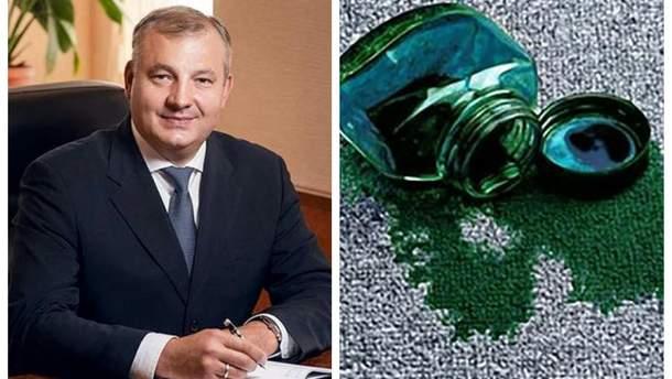 У Києві облили зеленкою суддю Віталія Усатого