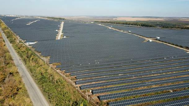 Друга найбільша сонячна електростанцію в Україні запрацювала на Хмельниччині