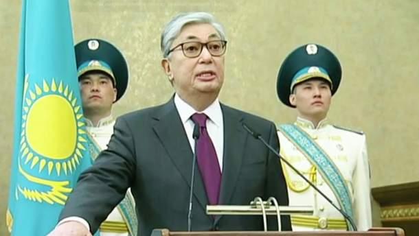 Касим-Жомарт Токаєв вступив на посаду президента Казахстану