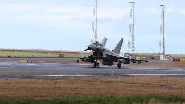 Італійські винищувачі Eurofighter Typhoon