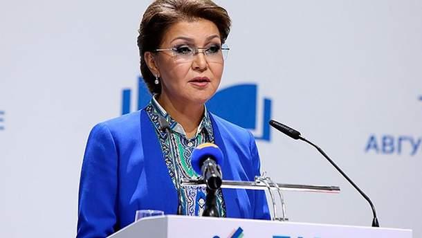 Донька Нурсултана Назарбаєва – Даріга Назарбаєва - стала спікером Сенату Казахстану