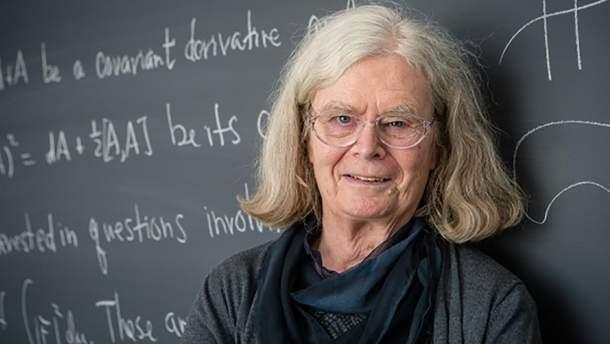 Уперше в історії Абелівську премію з математики присудили жінці Карен Уленбек