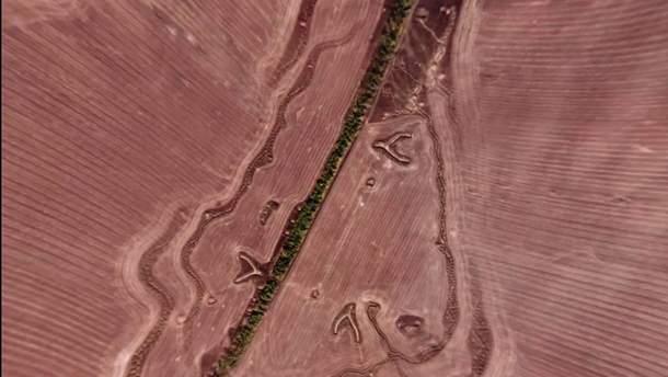 Фото з космосу місць боїв на Донбасі