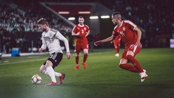 Сербия сыграла вничью с Германией в товарищеском матче: видео голов
