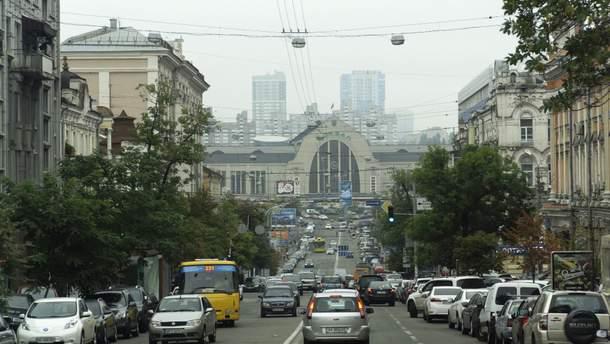Центральний залізничний вокзал у Києві