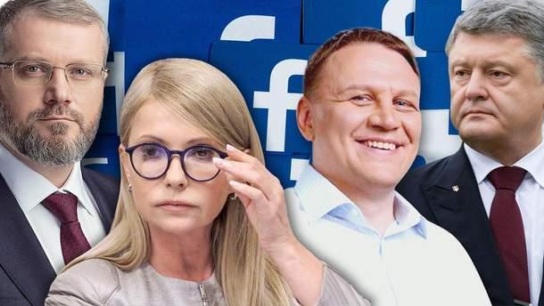 Хто з кандидатів та скільки заплатив за рекламу на Facebook: цифри вражають (фото)