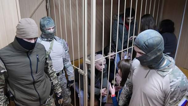 Всем пленным украинским морякам в России назначили психиатрическую экспертизу
