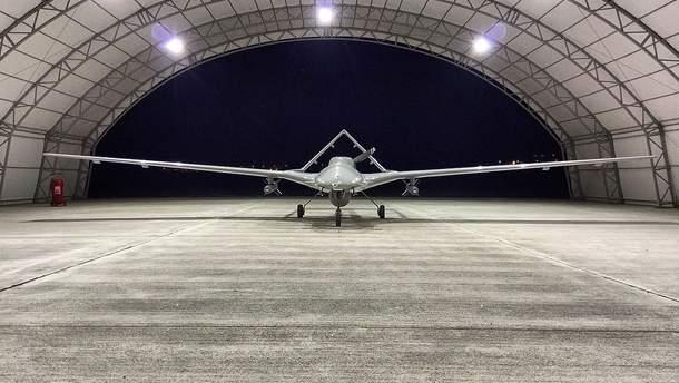 Появилось видео первых ударов нового турецкого дрона