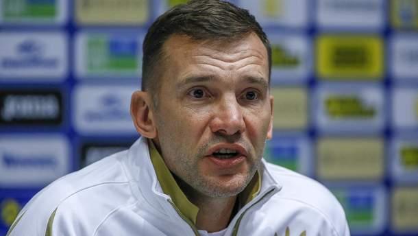Андрей Шевченко заговорил о желании тренировать клуб