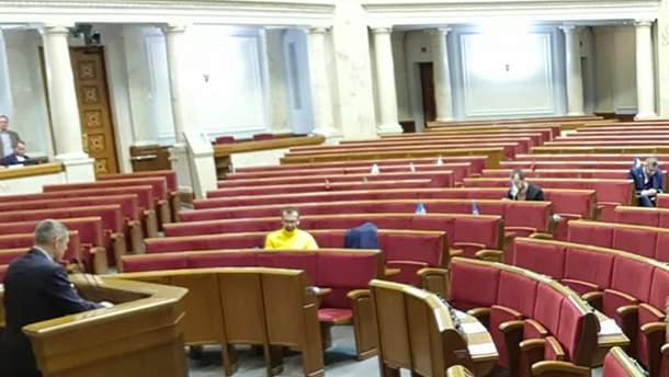 Ганьба нардепам: мережу обурило фото з Верховної Ради