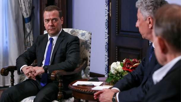 Визит Бойко и Медведчука в Москву может быть связан с остановленным терактом, - СБУ