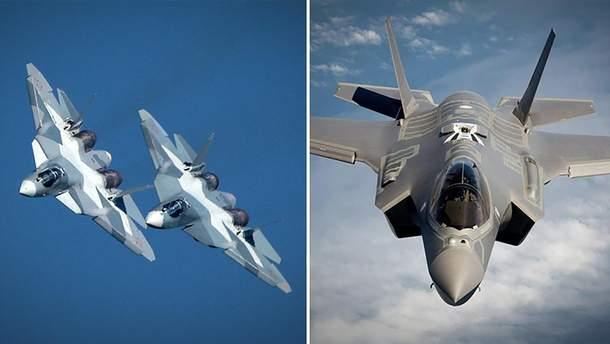 Су-57 не здатен і ніколи не зможе конкурувати з F-35, – National Interest
