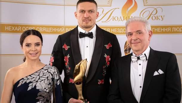 """Усик получил титул """"Человек года – 2018"""": фото с награждения"""