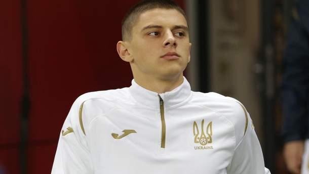 Приятно, когда на тебя обращает внимание Роналду – игрок сборной Украины Миколенко