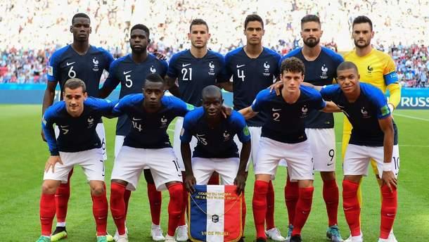 Збірна Франції зіграє матч відбору на Євро-2020 проти Ісландії в особливих футболках: фото