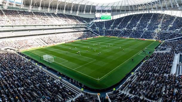 """""""Тоттенхэм"""" сыграл первый матч на новом стадионе: видео его строительства"""