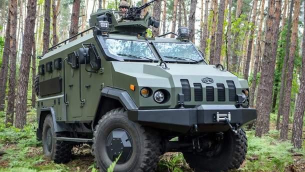 """Украинский бронеавтомобиль """"Варта"""""""