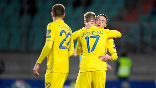 Лучший игрок матча Люксембург – Украина: опрос читателей Спорт24