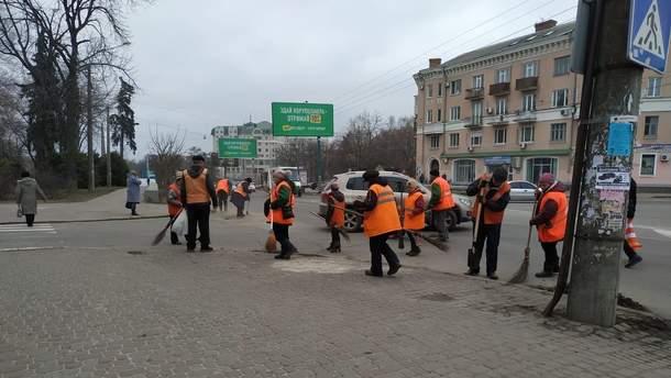 Як за допомогою президента прибирати вулиці: рецепти Полтави