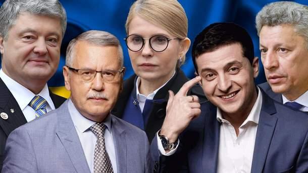 ТОП-5 лидеров в президенты Украины 2019 - краткая биография