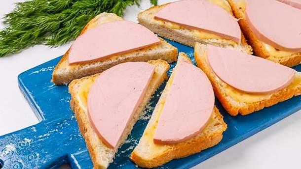 У яких областях Україні найдорожчі продукти для бутербродів з ковбасою