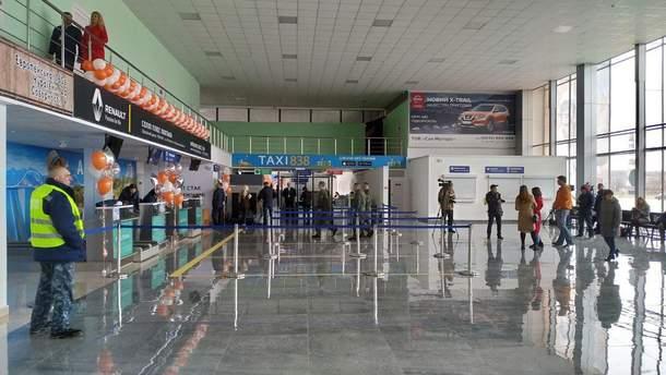 Первый международный рейс в Полтаве