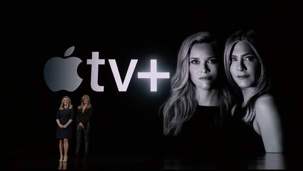 """Утреннее шоу"" на презентации Apple TV"