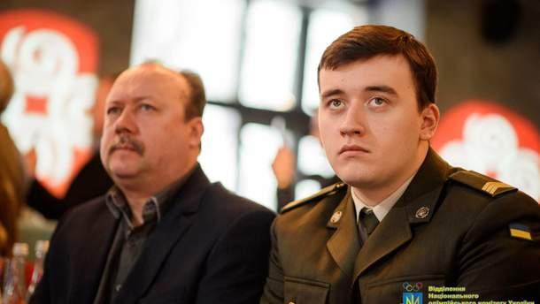 Павел Коростильв с отцом Сергеем Коростылева