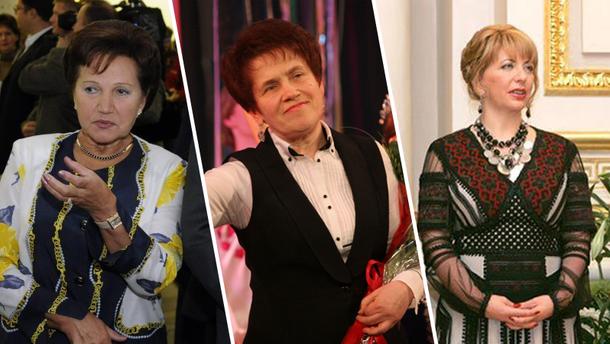Головні жінки українських президентів
