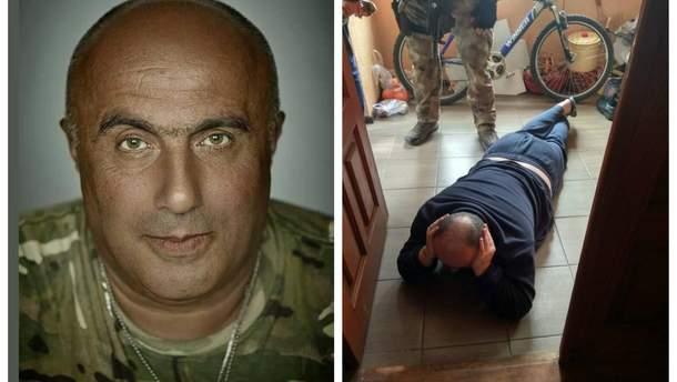 СБУ задержала грузина Вано Надирадзе, которого в 2017 году выдворили из Украины