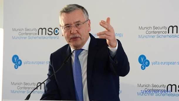 Гриценко не буде голосувати за Порошенка в другому турі виборів