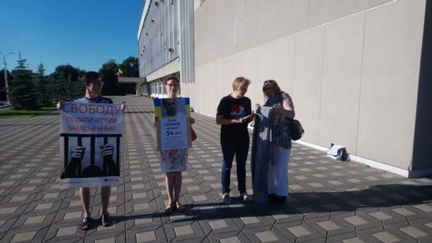 Карім Зянчурін – учасник акції на підтримку українського політв'язня Кремля Олега Сенцова